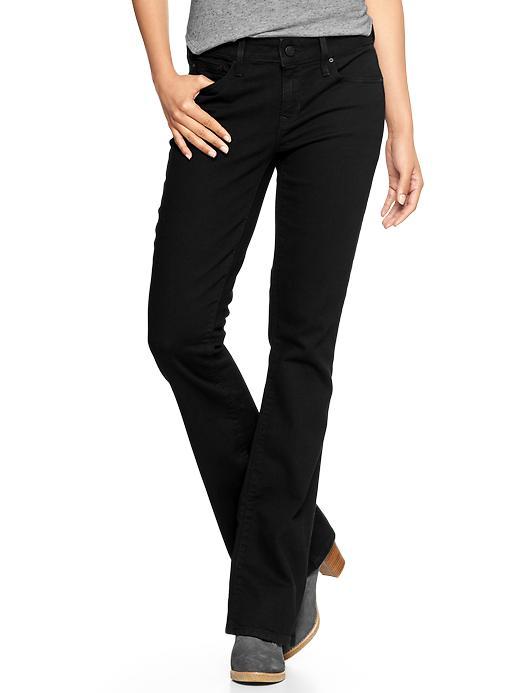 Gap 1969 Curvy Perfect Boot Jeans - True black - Gap Canada