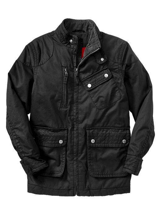 Gap Wax Twill Jacket - Black night - Gap Canada