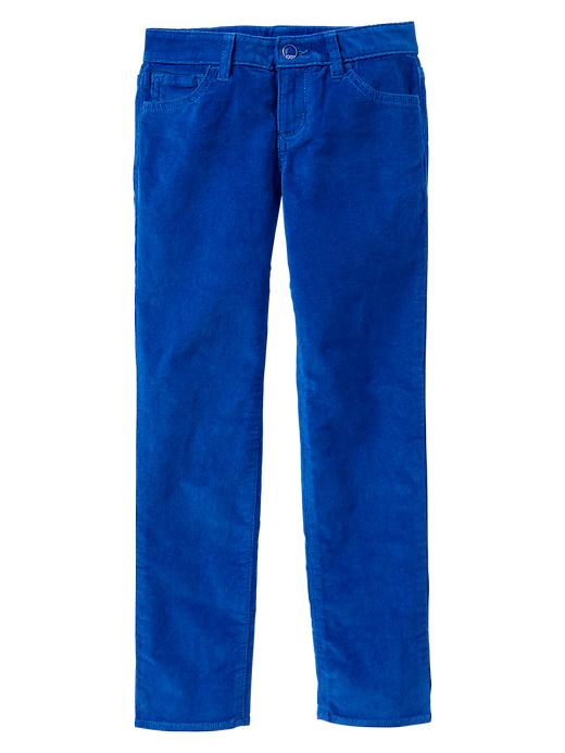Gap Super Skinny Corduroy Pants - Active blue