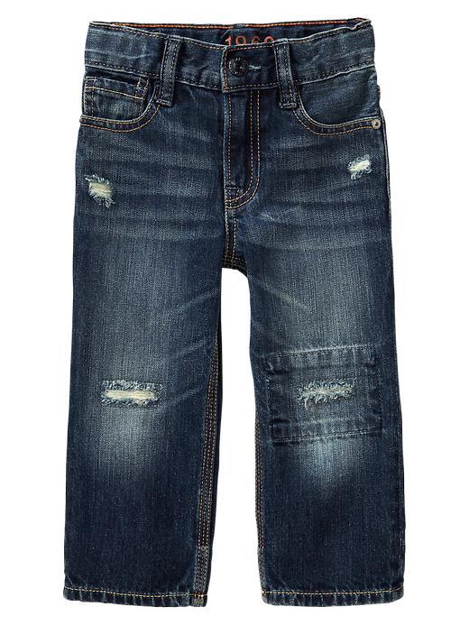 Gap Repair Original Fit Jeans - Medium wash - Gap Canada