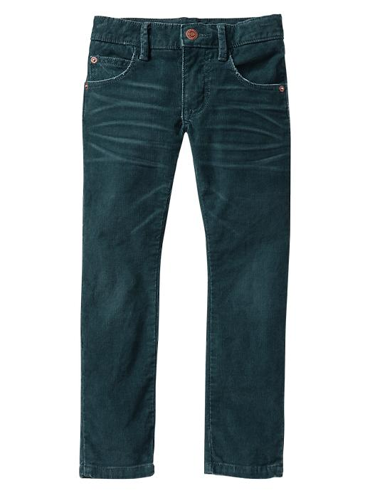 Gap Skinny Fit Corduroy Pants - Boone blue cord a.s. - Gap Canada