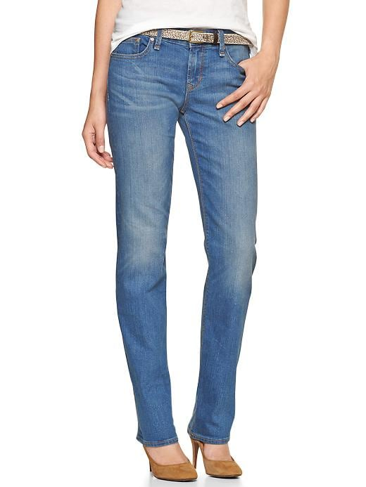Gap 1969 Real Straight Jeans - Light wash - Gap Canada