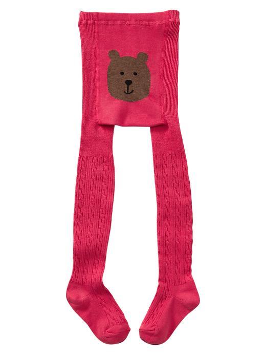 Gap Cable Knit Tights - Summer azalea
