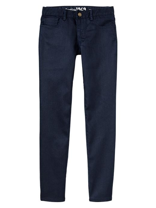 Gap 1969 Coated Super Skinny Jeans - Blue denim - Gap Canada