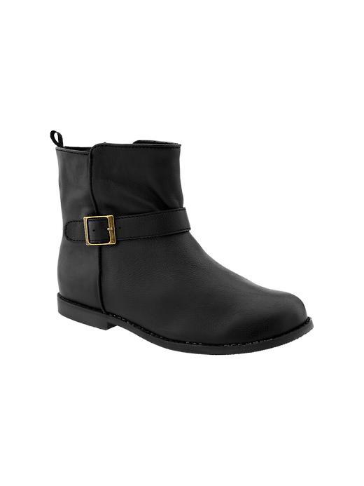 Gap Buckle Boots - True black - Gap Canada
