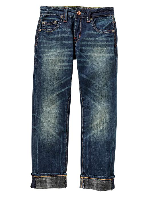 Gap 1969 Brush Back Straight Jeans - Denim - Gap Canada