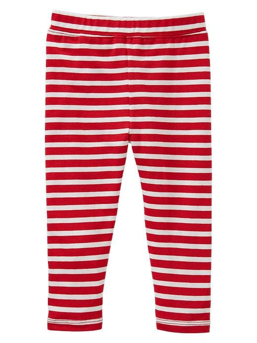 Gap Leggings - White/red stripe - Gap Canada