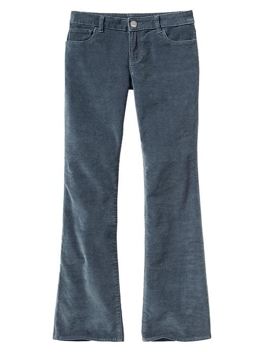 Gap Boot Cut Corduroy Pants - Blue gray - Gap Canada