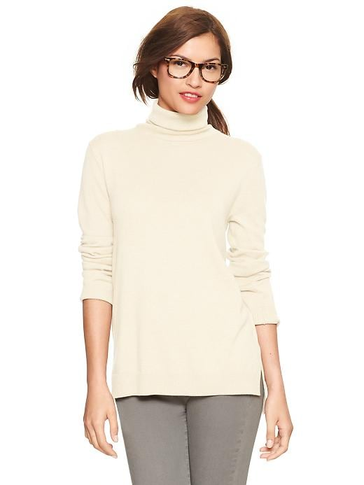 Gap Eversoft Turtleneck Sweater - Ivory frost - Gap Canada