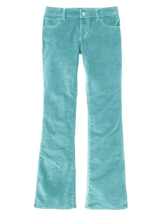Gap Boot Cut Corduroy Pants - Blue agate