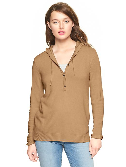 Gap Eversoft Hoodie - Novelty cashew crunch - Gap Canada