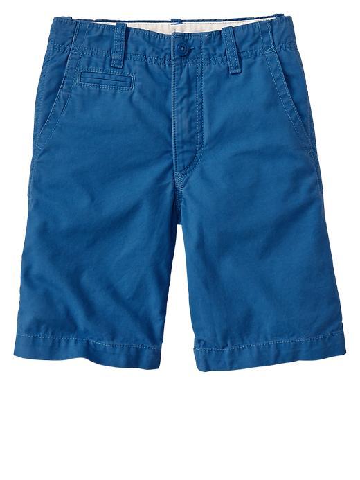 Gap Flat Front Shorts - Cobalt blue