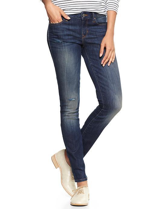 Gap 1969 Destructed Always Skinny Jeans - Cassidy wash - Gap Canada