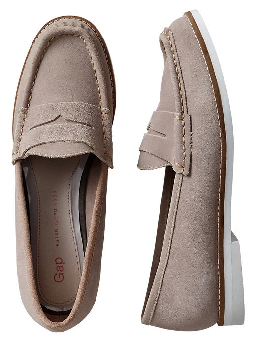Gap Suede Loafers - Margate sand - Gap Canada