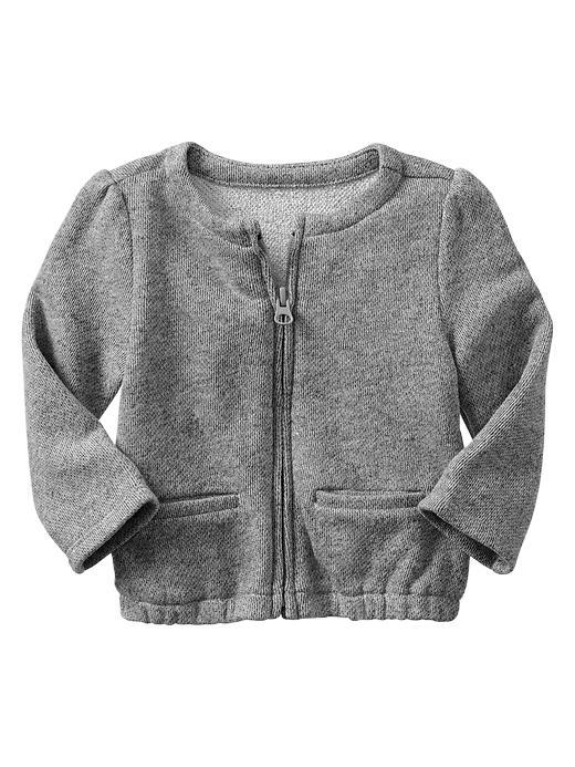 Gap Marled Knit Jacket - Grey - Gap Canada