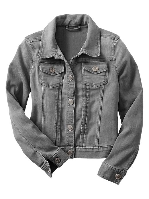 Gap 1969 Denim Jacket - Grey denim - Gap Canada