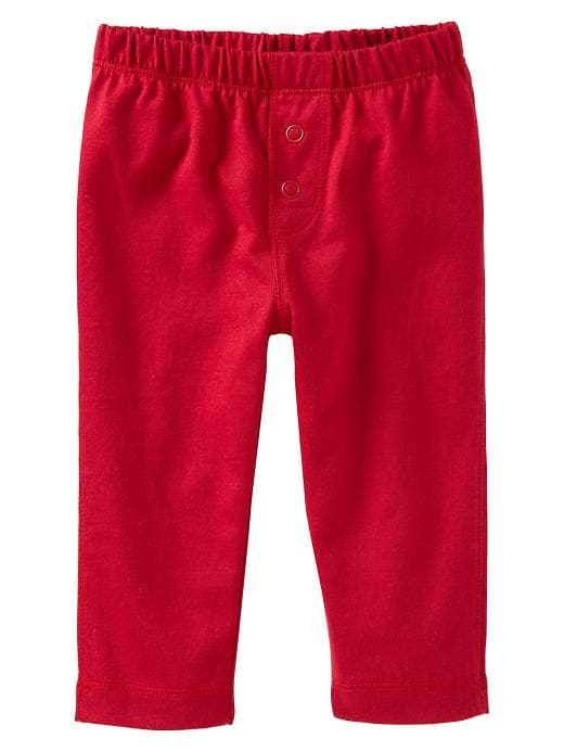 Gap Jersey Knit Pants - Admiral red