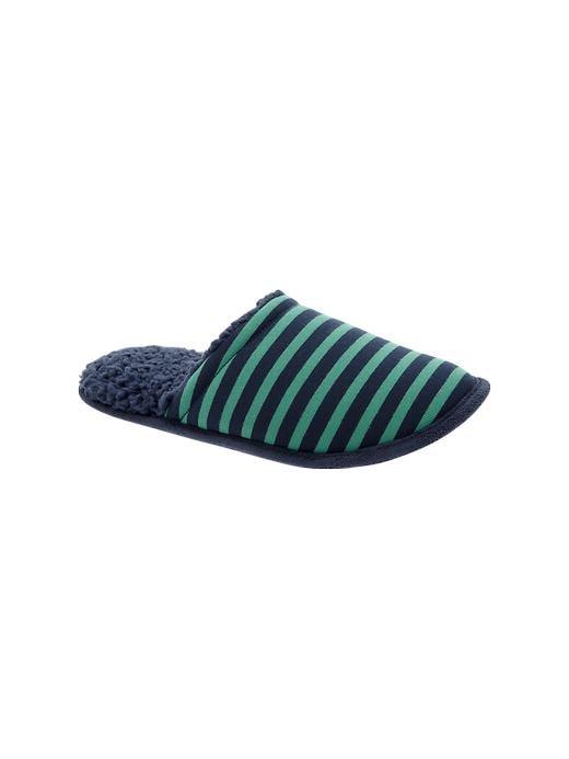 Gap Printed Slippers - Blue stripe - Gap Canada