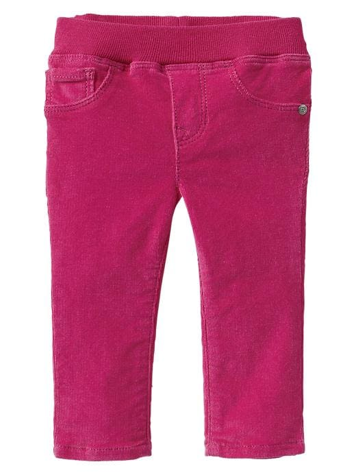 Gap Corduroy Knit Waist Jeggings - Standout pink - Gap Canada