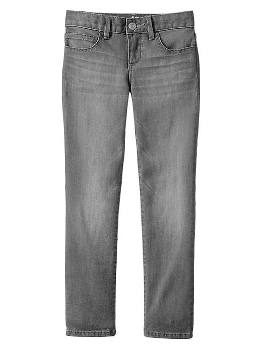 Gap 1969 Gray Super Skinny Jeans - Grey denim - Gap Canada