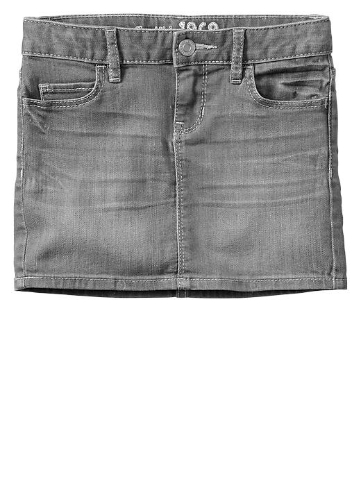 Gap 1969 Gray Denim Mini Skirt - Grey denim - Gap Canada