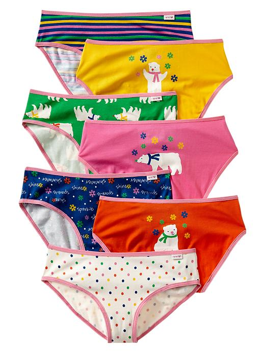 Gap Polar Bear Bikini (7 Pack) - Multi