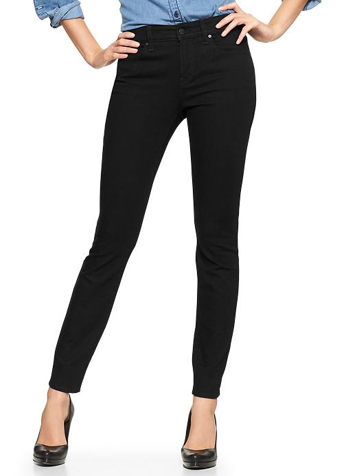 Gap 1969 Curvy Skinny Jeans - True black - Gap Canada