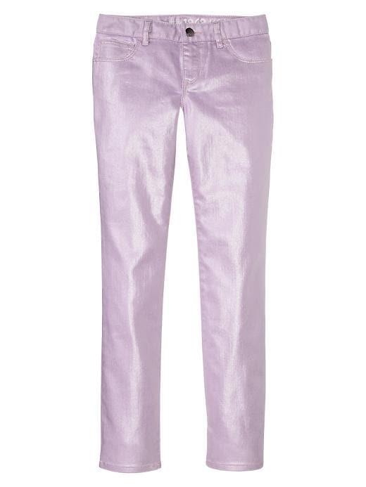 Gap 1969 Metallic Coated Super Skinny Jeans - Violet mist - Gap Canada