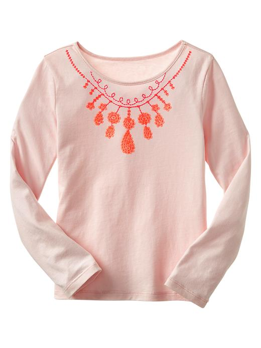 Gap Embellished Fashion Graphic T - Pink