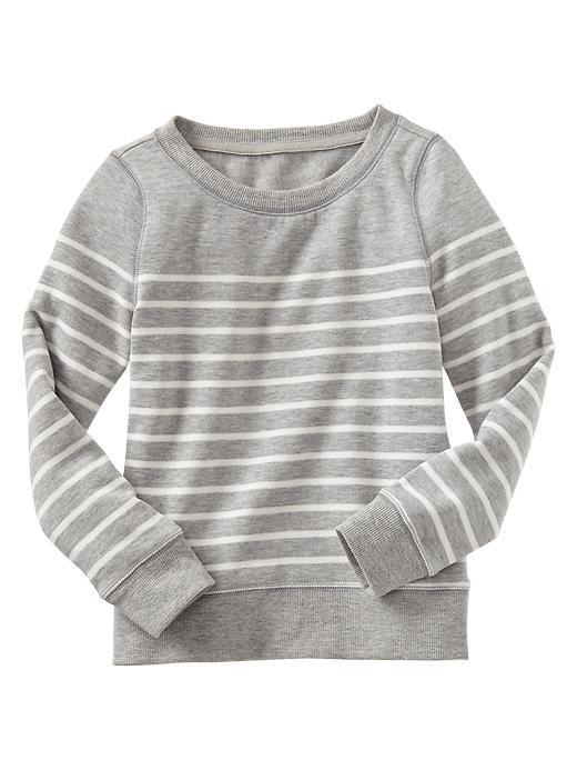 Gap Striped Pullover - Gray