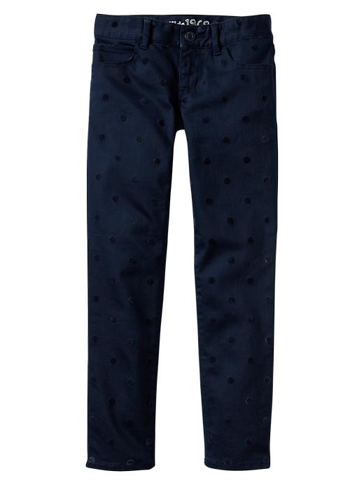 Gap 1969 Polka Dot Super Skinny Jeans - Elysian blue - Gap Canada