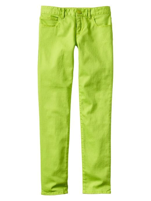 Gap 1969 Bright Colored Super Skinny Jeans - Lime cooler - Gap Canada