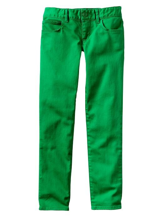 Gap 1969 Bright Colored Super Skinny Jeans - Green moment - Gap Canada