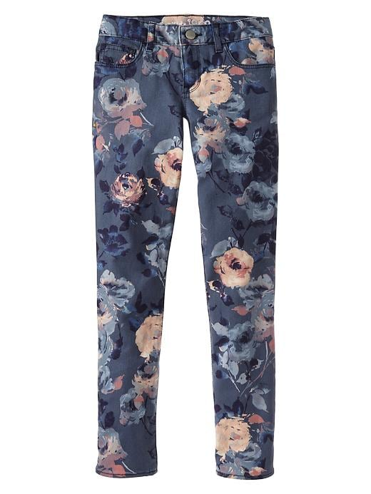 Gap 1969 Floral Super Skinny Jeans - Night azul - Gap Canada