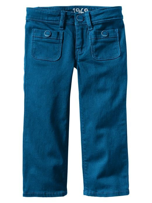 Gap Colored Pocket Straight Jeans - Blue streak - Gap Canada