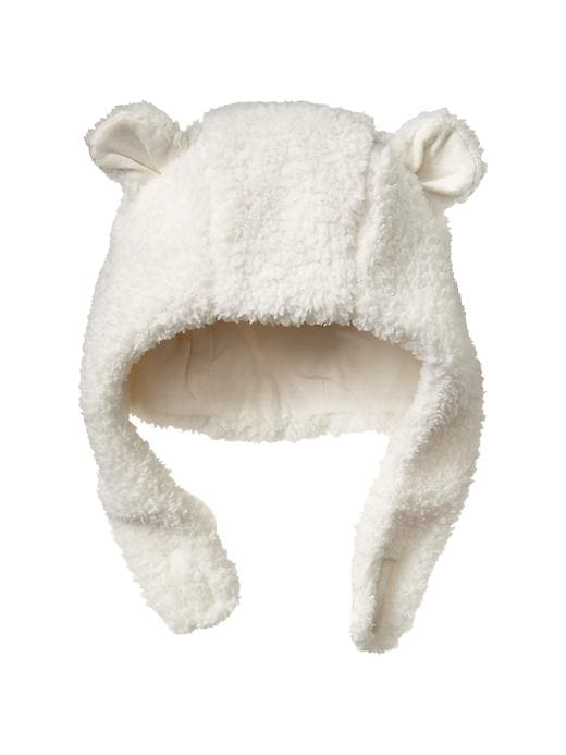 Gap Cozy Bear Hat - Ivory frost - Gap Canada