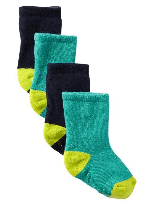 Gap Contrast Socks (2 Pack) - Basic navy - Gap Canada