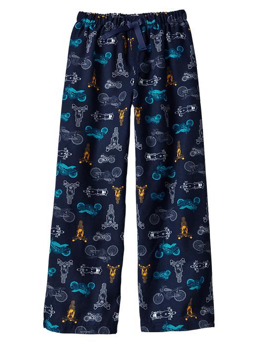 Gap Printed Woven Pj Pants - Moto