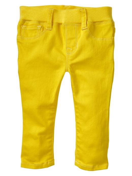 Gap Knit Waist Legging Jeans - Bright neon yellow - Gap Canada