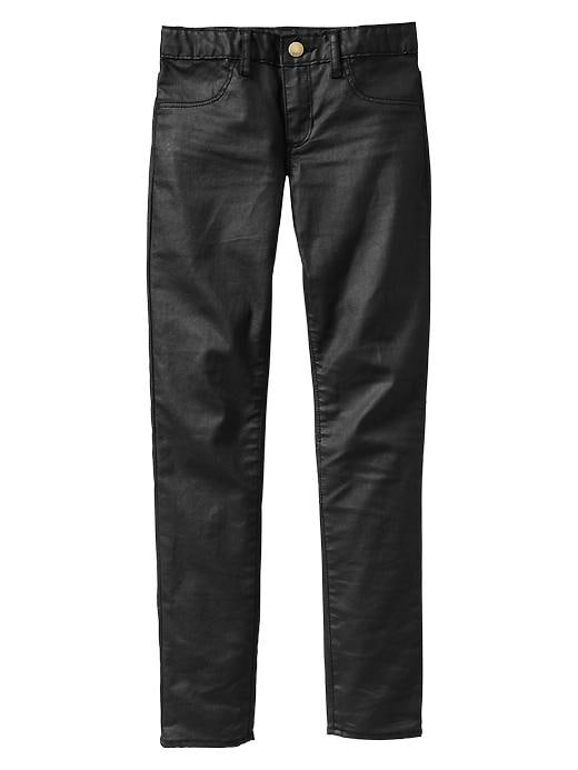 Gap 1969 Coated Legging Jeans - Black denim - Gap Canada