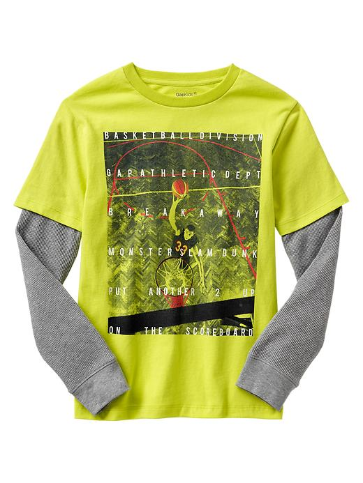 Gap 2 In 1 Sports Graphic T - Safety yellow 130630tn