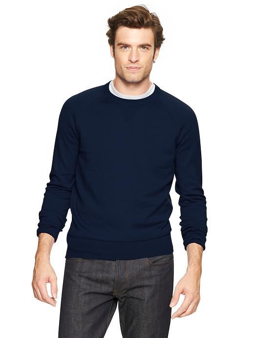 Gap Cotton Cashmere Sweater - Navy - Gap Canada