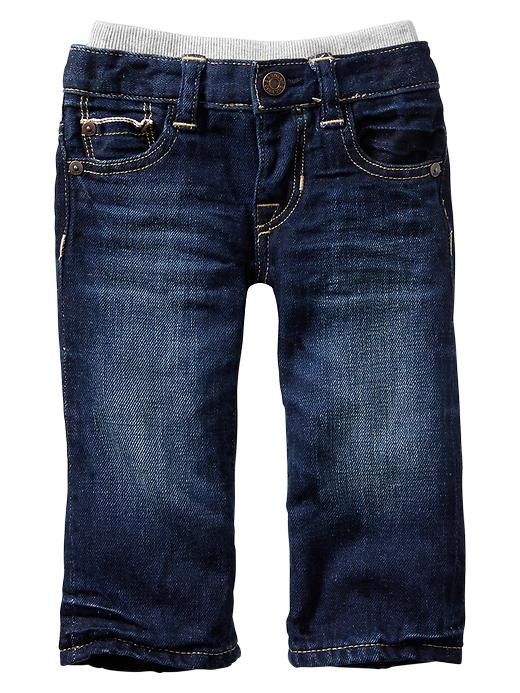 Gap Knit Waist Original Fit Selvedge Jeans - Denim - Gap Canada