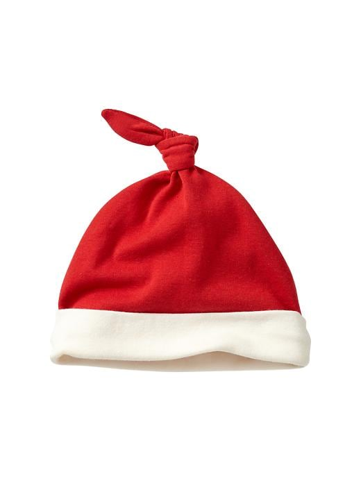Gap Colorblock Knot Hat - Red
