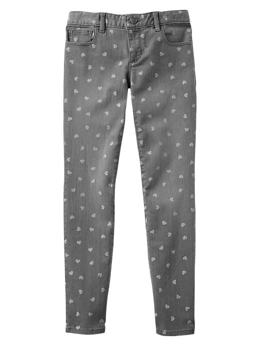 Gap 1969 Heart Super Skinny Jeans - Grey denim - Gap Canada