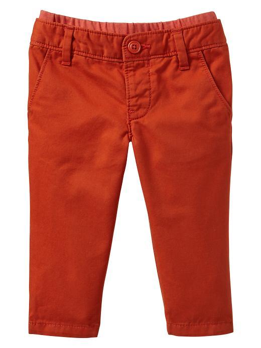 Gap Knit Waist Slim Pants - Fireball - Gap Canada
