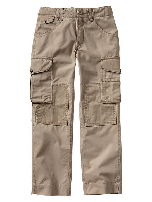 Gap Patched Cargo Original Fit Pants - Khaki