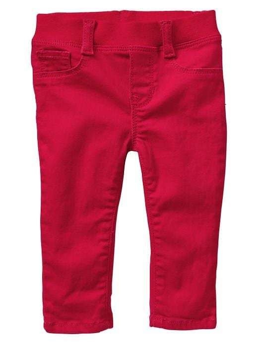 Paddington Bear For Babygap Knit Waist Colored Legging Jeans - Red wagon - Gap Canada