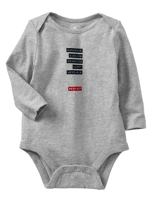 Paddington Bear For Babygap Type Graphic Bodysuit - Gray - Gap Canada