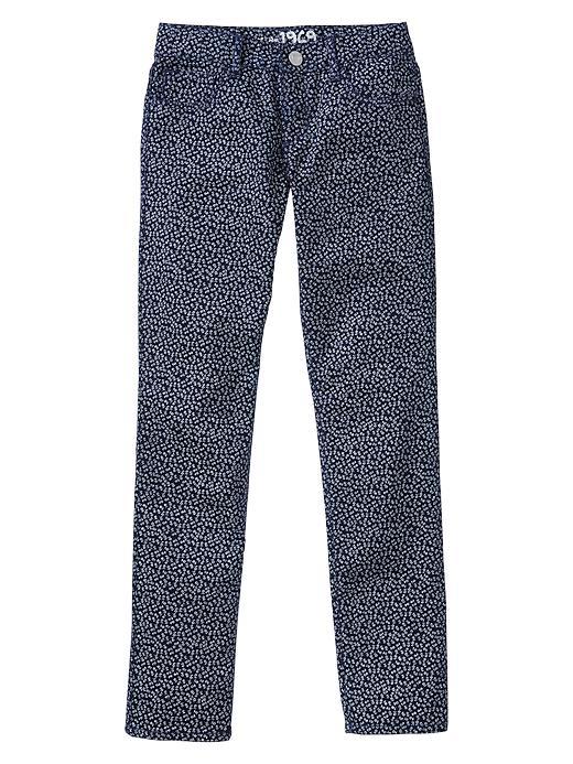 Gap 1969 Indigo Print Super Skinny Jeans - Blue galaxy - Gap Canada